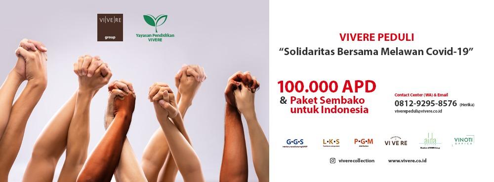 #VIVEREpeduli – Solidaritas Bersama Melawan Covid-19