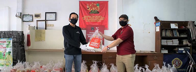 Update #VIVEREpeduli – Salurkan lebih dari 3000 Paket Sembako & Donasi APD ke 5 Faskes